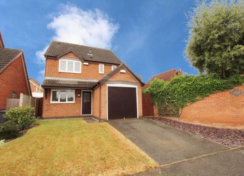 Thumbnail 3 bed detached house for sale in Gunnersbury Way, Nuthall, Nottingham