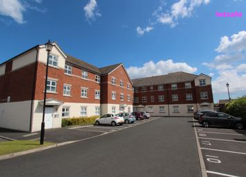 Thumbnail 2 bed flat to rent in Woodburn Drive, Whitley Bay