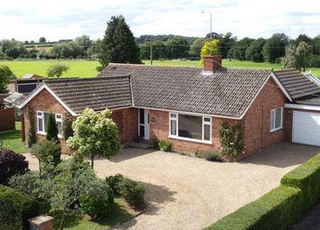 Thumbnail 3 bed detached bungalow for sale in Coney Weston Road, Sapiston, Bury St. Edmunds