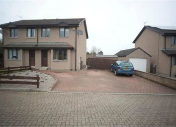 Thumbnail 3 bed semi-detached house for sale in Belhaven Road, Pitmedden, Ellon, Aberdeenshire