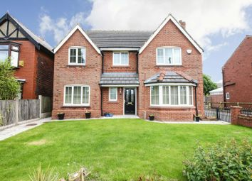 Thumbnail 4 bed detached house for sale in Moss Road, Billinge, Wigan