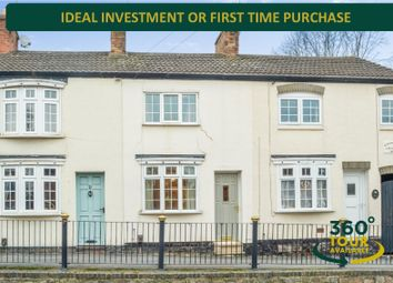 Thumbnail 1 bed terraced house for sale in London Road, Oadby, Leicester