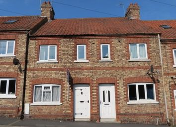 Thumbnail 3 bedroom terraced house to rent in Wentworth Street, Malton