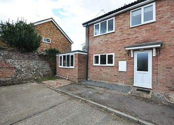 Thumbnail 4 bed semi-detached house for sale in Bailiwick Court, East Harling, Norwich