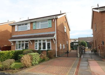 Thumbnail 2 bedroom semi-detached house for sale in Dunsford Avenue, Baddeley Green, Stoke On Trent