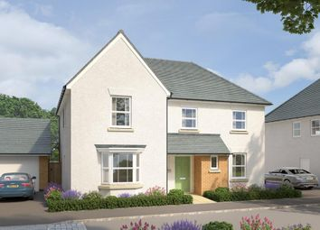 "Thumbnail 5 bed detached house for sale in ""Manning"" at West Yelland, Barnstaple"