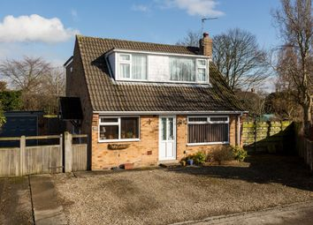 Thumbnail 3 bed detached house for sale in Moorland Garth, Strensall, York