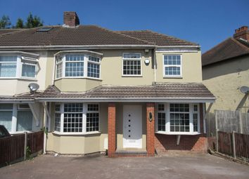 Thumbnail 4 bed semi-detached house for sale in Cole Bank Road, Hall Green, Birmingham