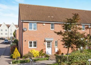 Thumbnail 3 bed end terrace house for sale in Little Canfield, Dunmow, Essex