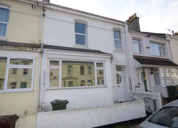 Thumbnail 4 bed terraced house for sale in Cromwell Road, Plymouth