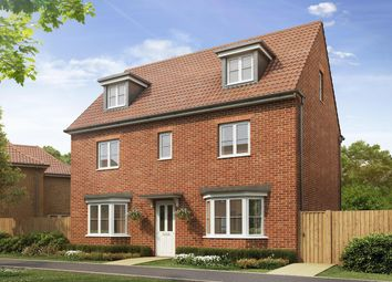 "Thumbnail 5 bedroom detached house for sale in ""Warwick"" at Dorman Avenue North, Aylesham, Canterbury"