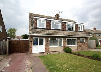 Thumbnail 3 bed semi-detached house for sale in Rife Way, Ferring, Worthing