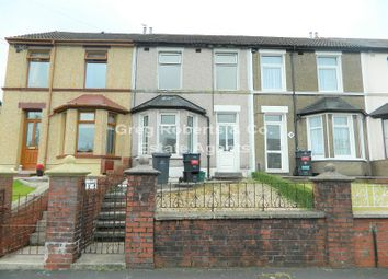 Thumbnail 2 bed terraced house for sale in Ashvale, Tredegar, Blaenau Gwent.