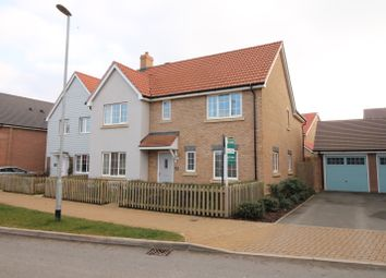 Thumbnail 4 bed detached house for sale in Battle Avenue, Daventry