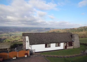 Thumbnail 3 bed detached bungalow for sale in Overhill, Leighton, Welshpool