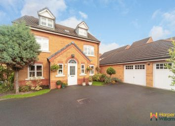 Thumbnail 5 bed detached house for sale in Montgomery Close, Great Sankey, Warrington