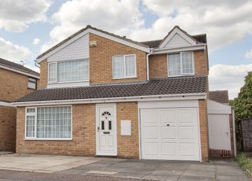 Thumbnail 4 bed detached house for sale in Emerson Close, Leicester