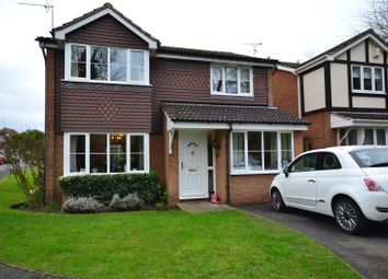 Thumbnail 4 bed detached house for sale in Hawker Road, Oadby, Leicester