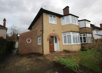 Thumbnail 3 bed semi-detached house to rent in Ruffetts Close, South Croydon