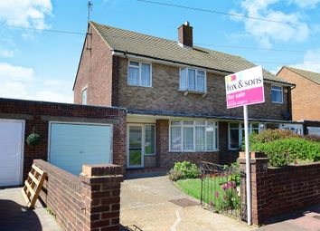 Thumbnail 3 bed semi-detached house for sale in Ringwood Close, Eastbourne