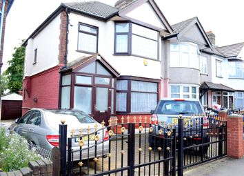 Thumbnail 3 bed end terrace house to rent in Aldborough Road South, Newbury Park