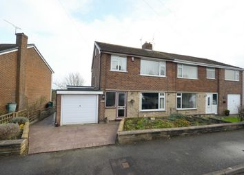 Thumbnail 3 bed semi-detached house for sale in Norwood Close, Hasland, Chesterfield
