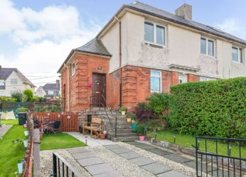 Thumbnail 2 bed flat for sale in Rodney Road, Gourock