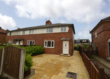 Thumbnail 3 bed terraced house for sale in The Crescent, Garforth, Leeds