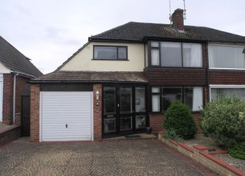 Thumbnail 3 bed semi-detached house for sale in Llangorse Close, Stourport-On-Severn