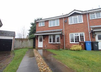 Thumbnail 3 bed semi-detached house for sale in Swatchway Close, Ipswich