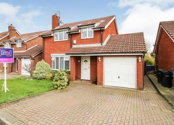Thumbnail 4 bed detached house for sale in Marquis Drive, Cheadle