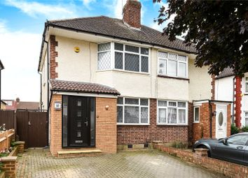 Thumbnail 3 bed end terrace house for sale in Royal Crescent, South Ruislip, Middlesex