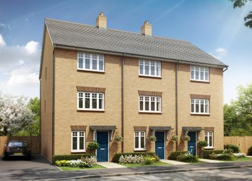 "Thumbnail 3 bed end terrace house for sale in ""Haversham"" at Southern Cross, Wixams, Bedford"