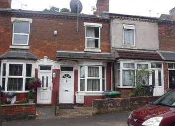 Thumbnail 2 bedroom terraced house for sale in Highfield Road, Birmingham