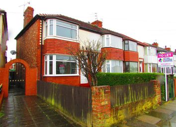 Thumbnail 2 bed semi-detached house to rent in Cherry Tree Road, Blackpool, Lancashire