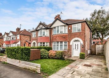 Thumbnail 3 bed semi-detached house for sale in Sylvan Avenue, Timperley, Altrincham