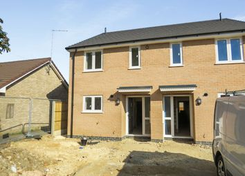 Thumbnail 2 bedroom semi-detached house for sale in Southfields Drive, Stanground, Peterborough