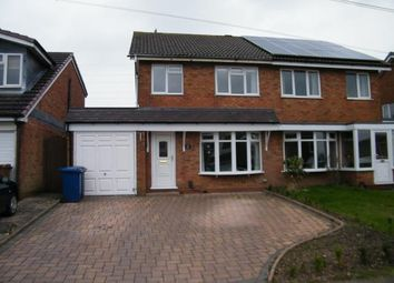 Thumbnail 3 bed semi-detached house for sale in Kingsdown Road, Chase Terrace, Burntwood