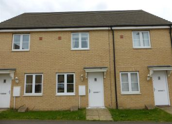 Thumbnail 2 bedroom terraced house for sale in Apollo Avenue, Cardea, Peterborough