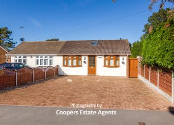 Thumbnail 4 bed semi-detached bungalow for sale in Monks Road, Binley Woods, Coventry