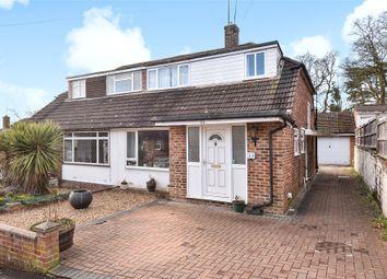 Thumbnail 3 bed semi-detached house for sale in Harts Leap Close, Sandhurst, Berkshire