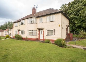 Thumbnail 2 bed flat for sale in Sandringham Crescent, Leeds