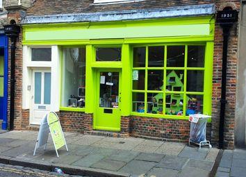 Thumbnail Retail premises for sale in Canterbury CT1, UK
