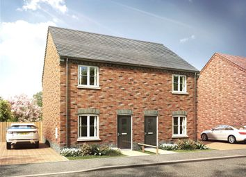 Thumbnail 2 bed semi-detached house for sale in Welch Close, Whaplode