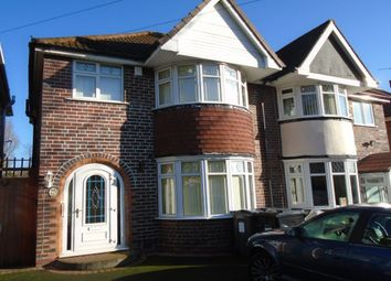 Thumbnail 3 bed semi-detached house for sale in Vera Road, Yardley, Birmingham