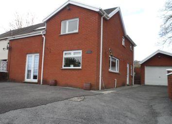 Thumbnail 4 bedroom property for sale in Plasycoed, Ystradgynlais, Swansea