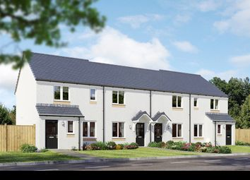 "Thumbnail 3 bedroom end terrace house for sale in ""The Newmore"" at Milnathort, Kinross"