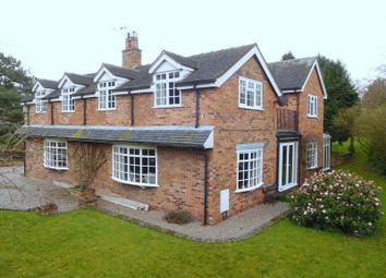 Thumbnail 4 bed detached house for sale in Crewe Road, Hatherton, Nantwich