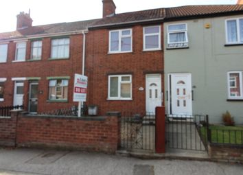 Thumbnail 2 bed terraced house to rent in Somerton Avenue, Lowestoft, Suffolk