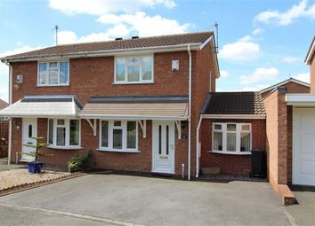 Thumbnail 2 bed semi-detached house for sale in Bordeaux Close, Milking Bank, Dudley